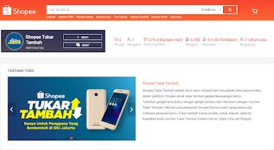 Tukar Tambah HP Xiaomi di Shopee