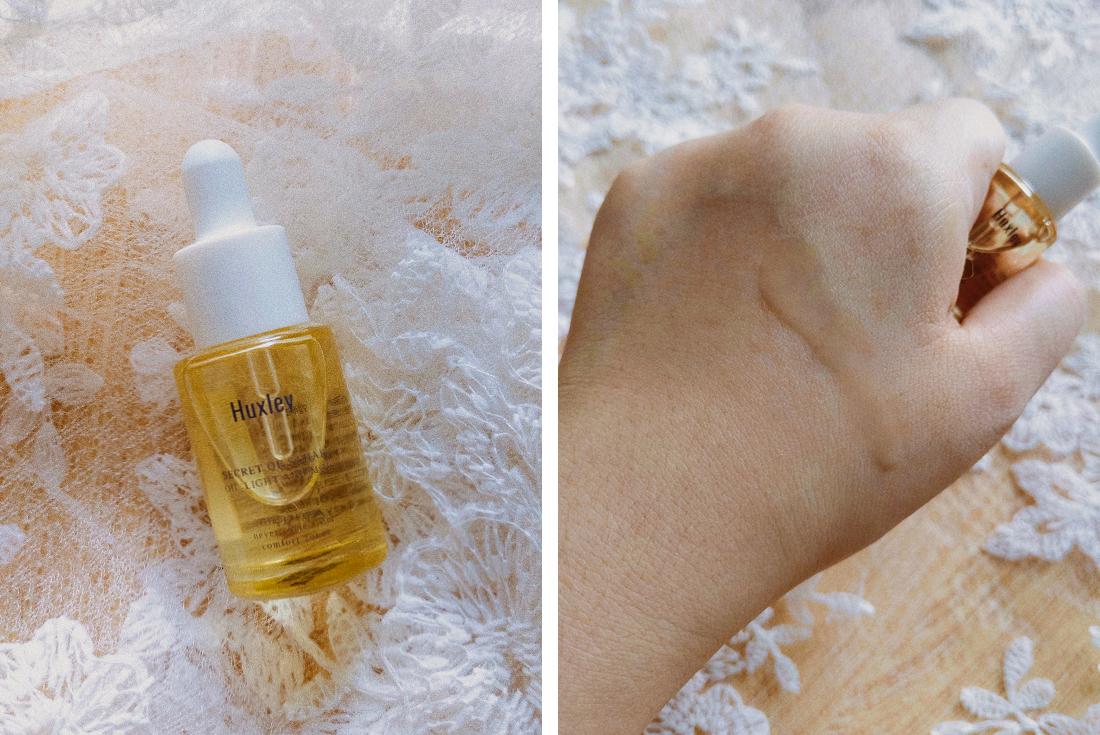 Huxley Secret of Sahara Oil Essence & Mask Set | chainyan.co