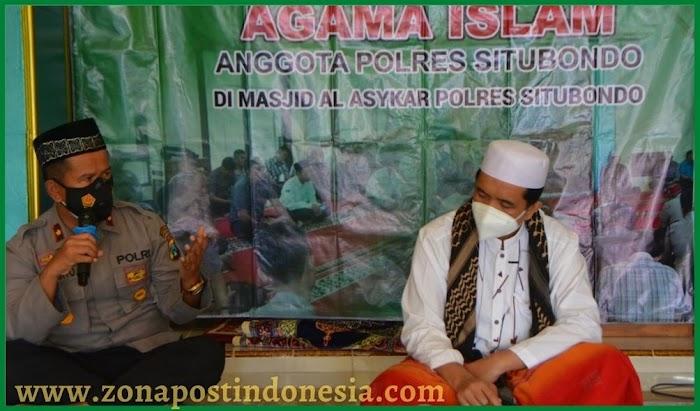 Binrohtal di Masjid Al-Asykar  Polres Situbondo, Tema Ikhlas dalam Tugas