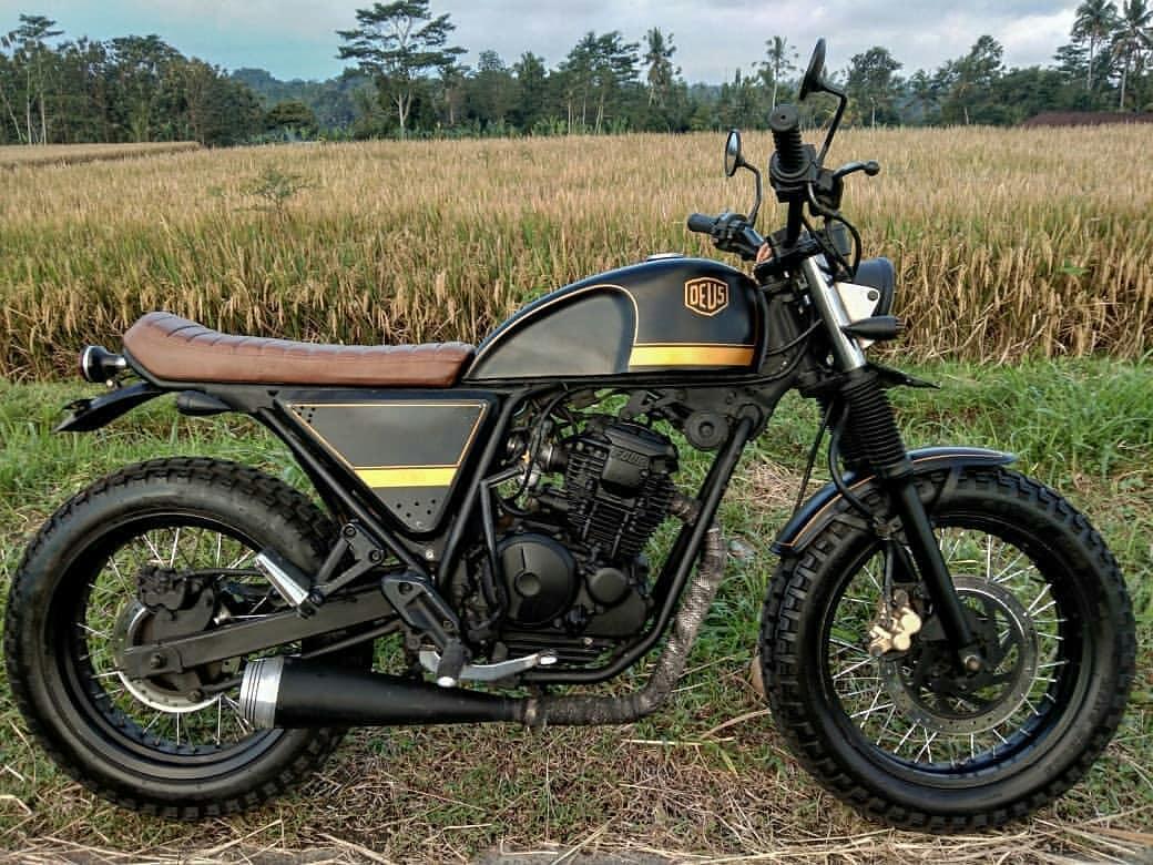 Inspirasi Modifikasi Motor Custom Japstyle Traker