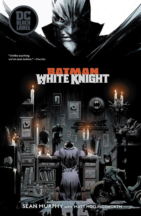 batman white knight dc comics