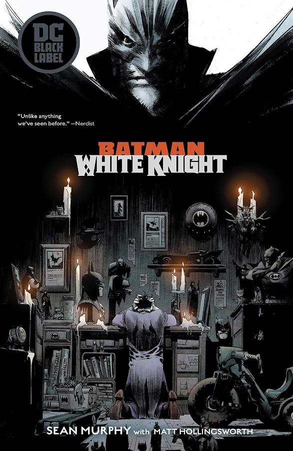 batman white knight dc comics