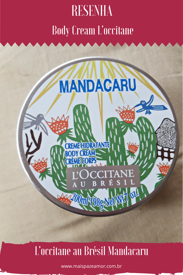 Creme L'occitane Mandacaru