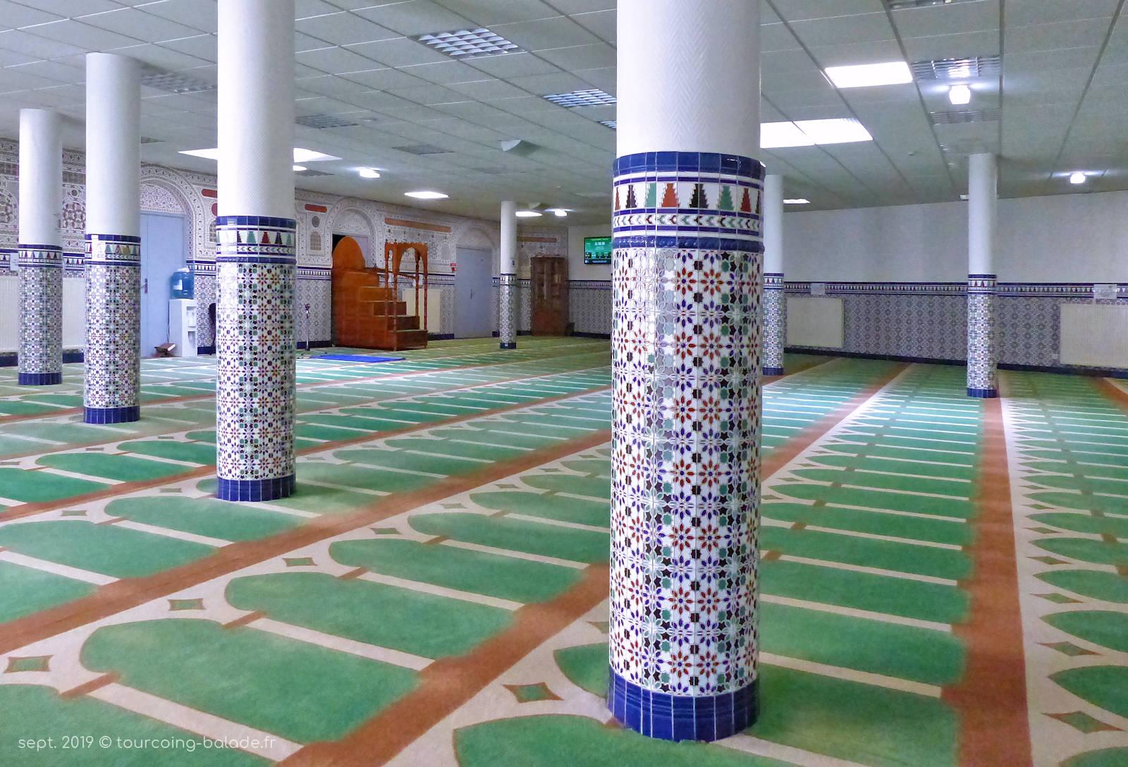 Mosquée As-Salam Tourcoing - Salle de prière