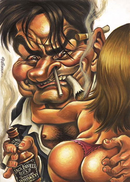 """Charlie Sheen"" por Joan Vizcarra"