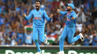 Krunal Pandya 4-36 - Australia vs India 3rd T20I 2018 Highlights