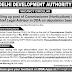 Chief Legal Advisor in Delhi Development Authority (DDA) - last date 03/02/2020