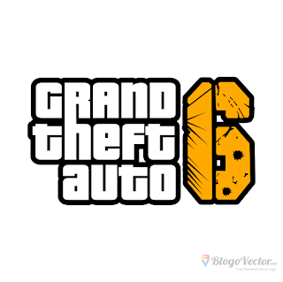 Grand Theft Auto 6 (GTA) Logo vector (.cdr)