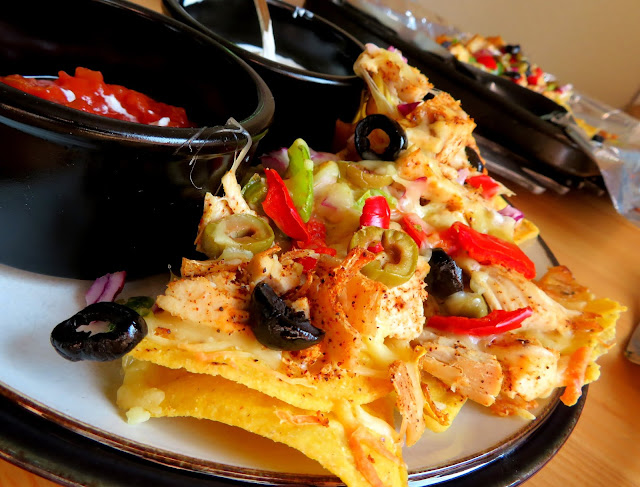 Easy Sheet Pan Chicken Nachos for Two