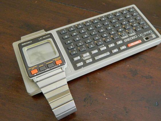 Seiko wrist computer