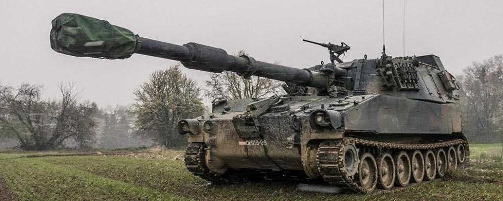 Латвія придбала ще 18 самохідних гаубиць M109