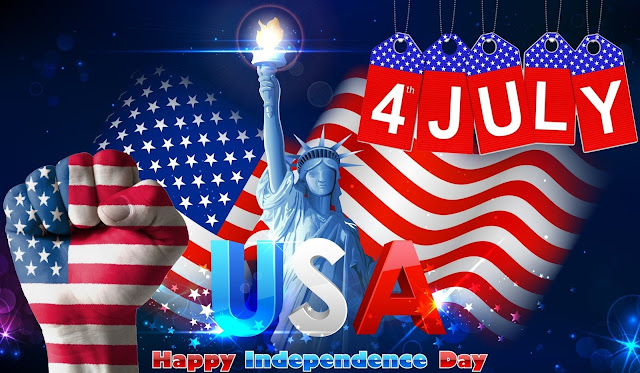 4th Of July 2017 Greetings Cards - Top Greetings Cards & Ecards of Independence Day USA