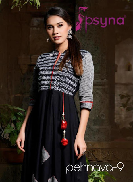 Psyna pehnava 9 party wear gown buy wholesale price