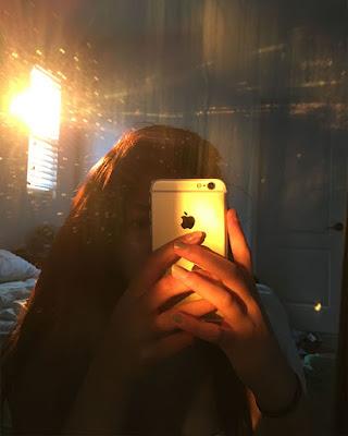 foto en el espejo tumblr casual