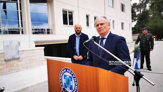 Γ. Ανδριανός: Ύψιστη η προσφορά των Σωμάτων Ασφαλείας στην κοινωνία μας