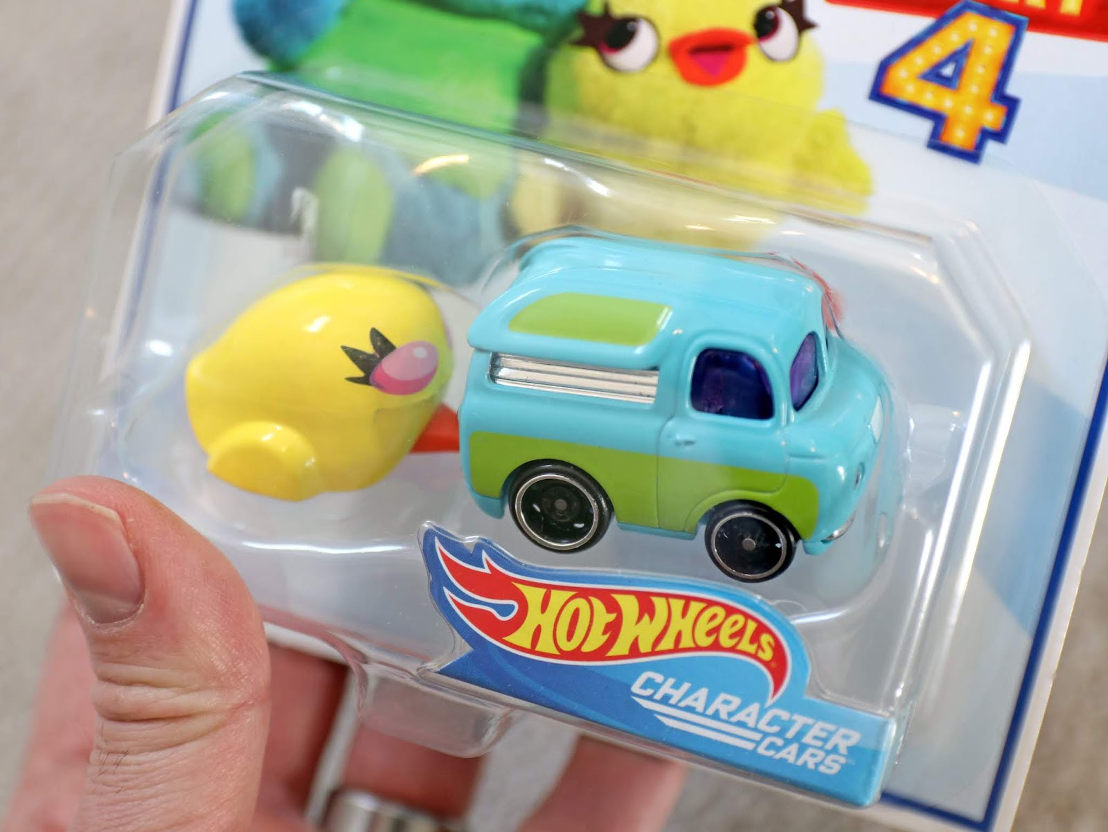toy story 4 hotwheels character cars ducky and bunny
