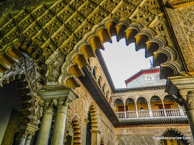 Pátio das Donzelas, Real Alcázar de Sevilha