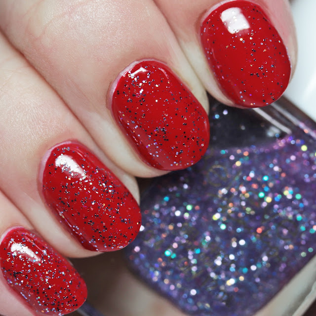 Believe Beauty Gel Effect Nail Polish Roulette over Rouge Veritable