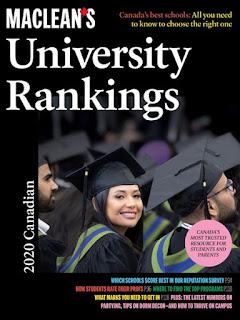 maclean's university rankings