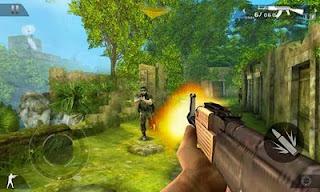 Game lama gameloft yang ga nyangka mampu dimainkan di android masa kini Unduh Game Android Gratis Modern Combat 2: Black Pegasus apk + data