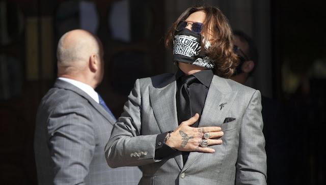 Julgamento de Johnny Depp é adiado — mas não por causa de 'Animais Fantásticos 3' | Ordem da Fênix Brasileira