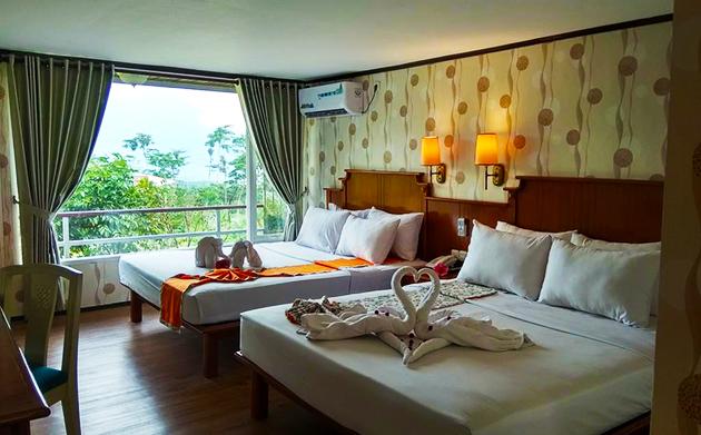 Ruangan hotel yang ber-AC harus memiliki lubang ventilasi minimal 15% dari luas lantai