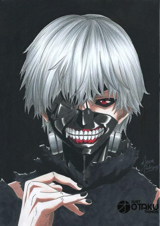 Anime FanArt - Kaneki Ken - Tokyo Ghoul