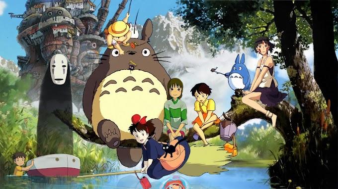 Em fevereiro todos os filmes do Estúdio Ghibli na Netflix!