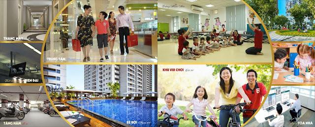 Tiện ích sống đẳng cấp tại Luxury Park View