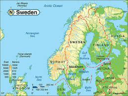 La Norvegia Cartina.Ripasso Facile Riassunto Geografia La Norvegia