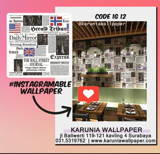 jual dinding wallpaper unik