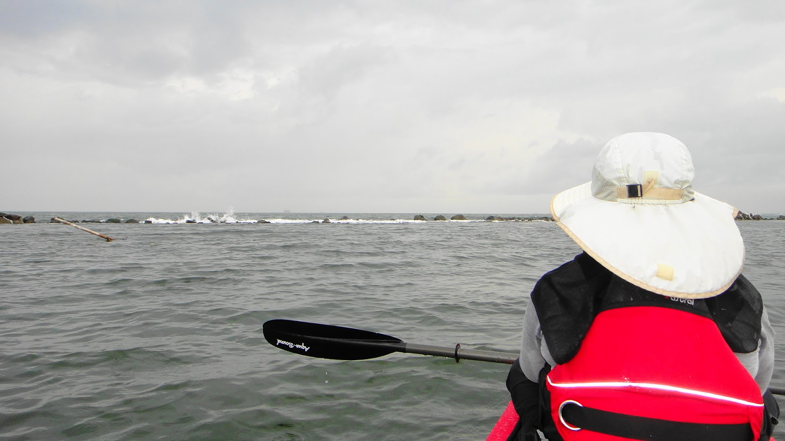 A Lonely Sea Kayaker from Jakarta: Venturing to open sea