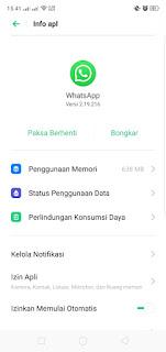 Cara Logout Aplikasi Whatsapp
