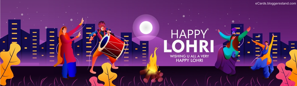 Happy lohri facebook cover picture download free 2021