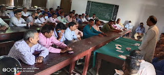 पंचानन राय ने शिक्षक संघर्षों को एक नया आयाम दिया : रमेश सिंह | #NayaSaberaNetwork
