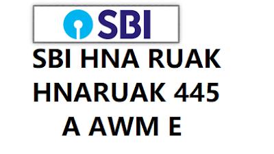 HNARUAK 445 A AWM E