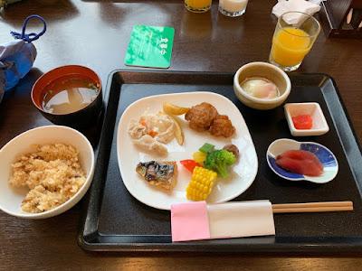 ホテル木暮 バイキング朝食