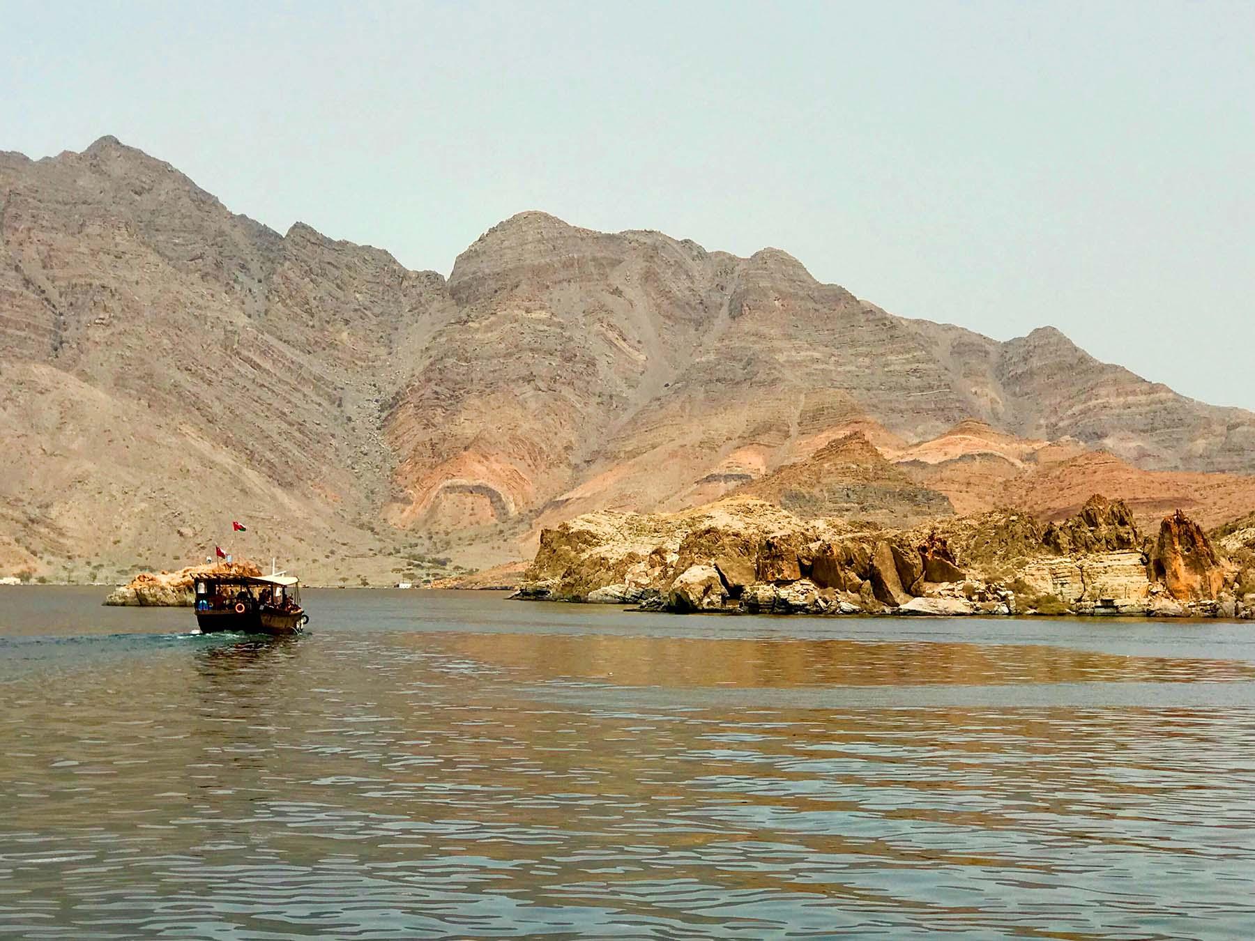 Fiordes de Musandam, Khasab, Omã