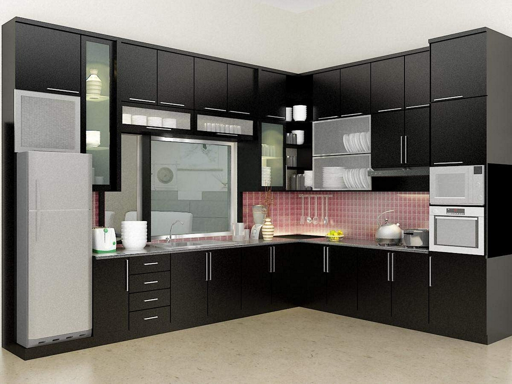 model kitchen set cantik 4