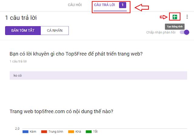 Tạo Biểu Mẫu Với Google Drive - Top5Free