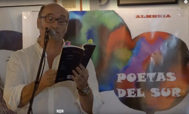 JAVIER IRIGARAY en el XVII VELORIO POÉTICO Almería