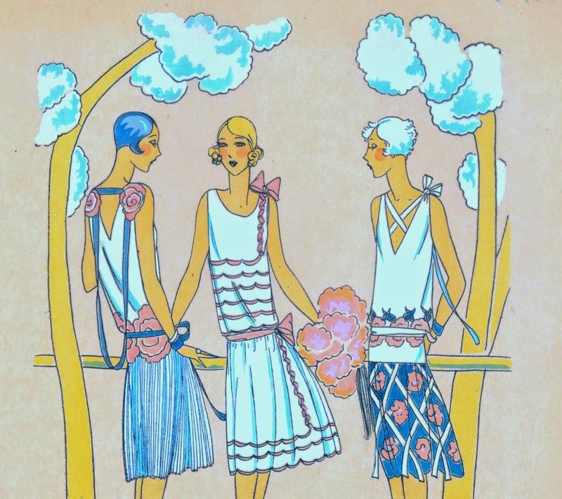 She and Me Vintage illustration calender