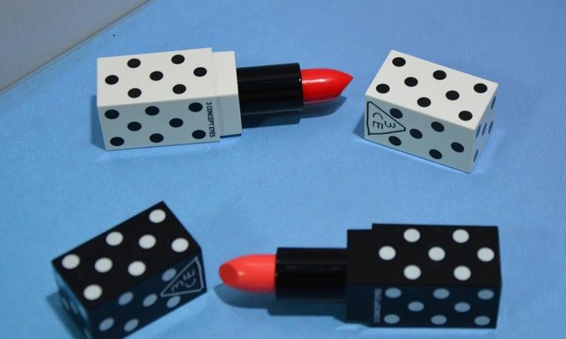 3 Concept Eyes lip color x dot edition: Let it pop!