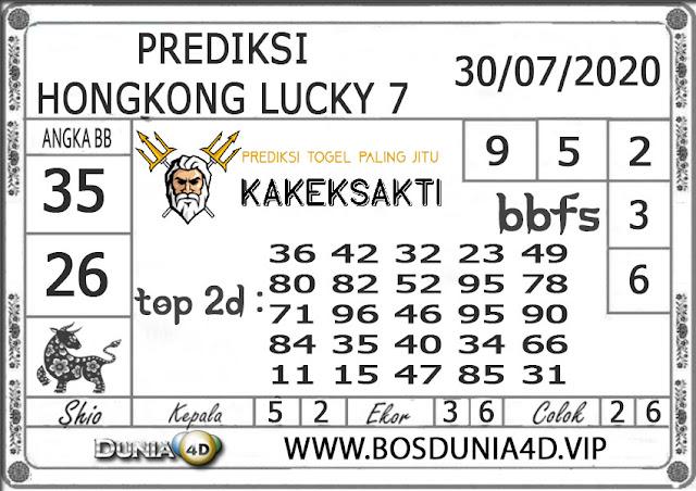 Prediksi Togel HONGKONG LUCKY 7 DUNIA4D 30 JULI 2020