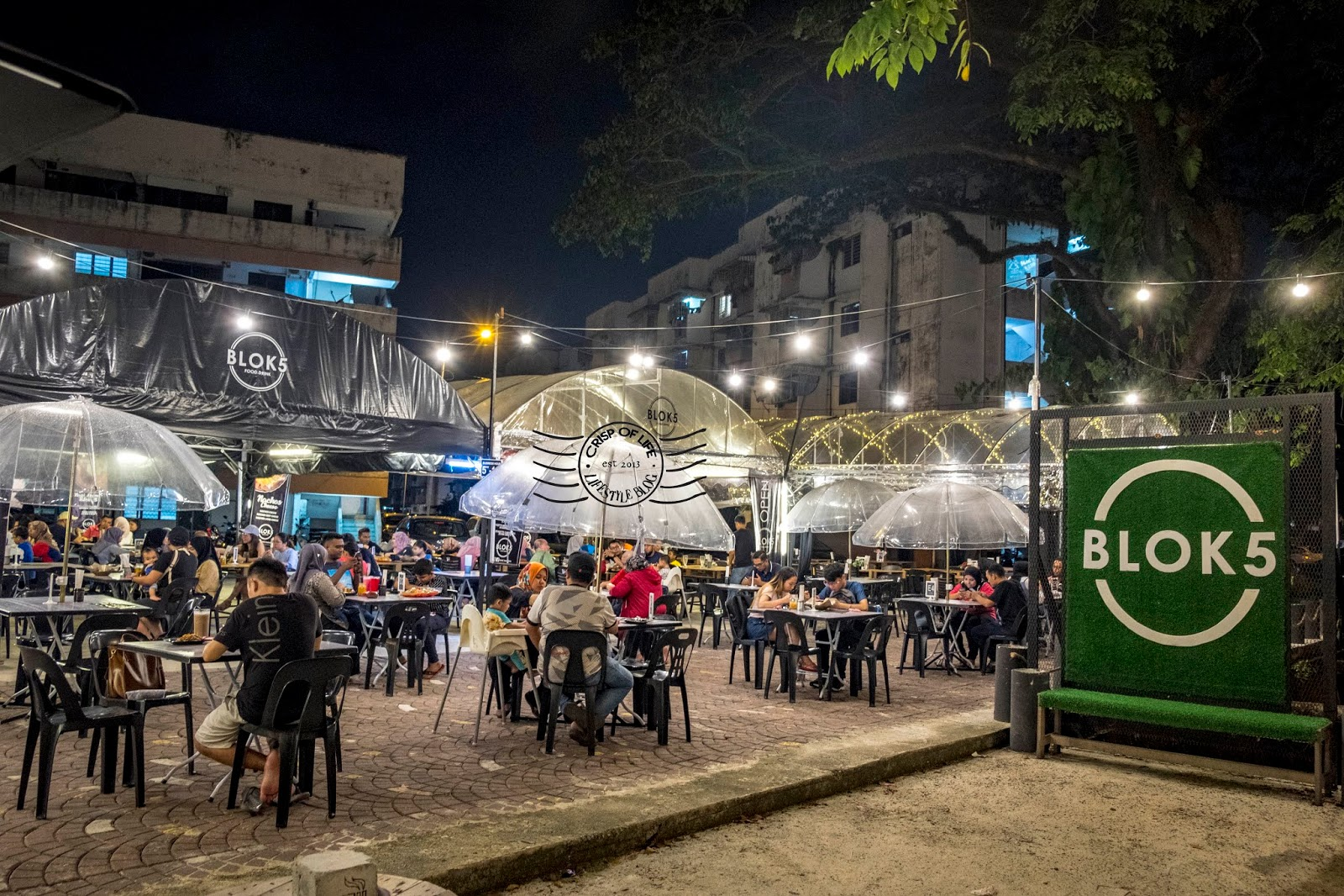 Blok 5 - The Cool Spot to Enjoy Nice Malay Dinner and Supper