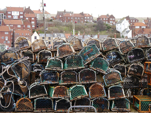Favourite place in the North, Whitby lobster pots
