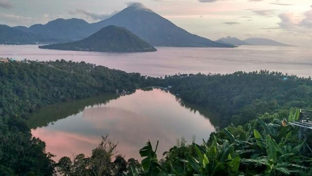 Danau Laguna di Ngade Ternate