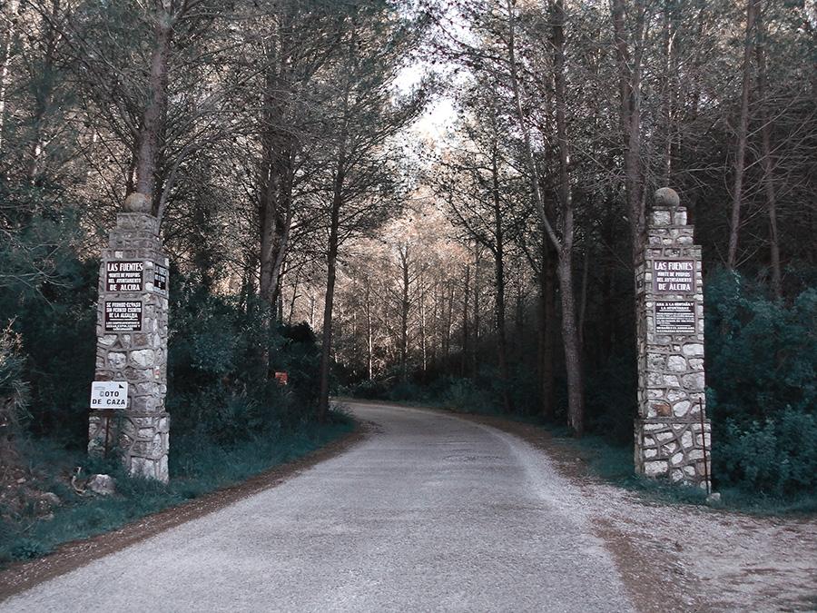 Entrada a La Casella
