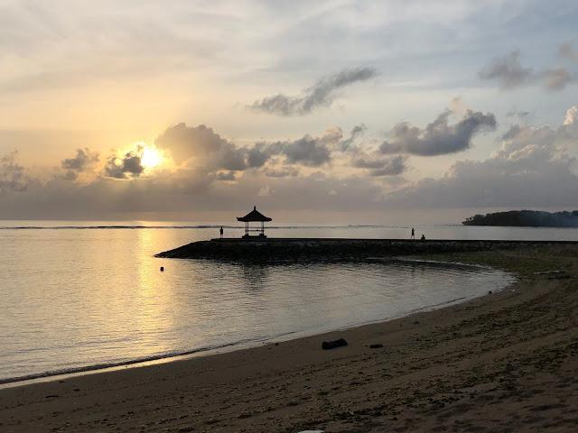 Sunrise at Nusa Dua Beach, Bali