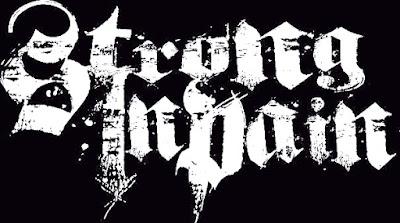 Strong In Pain - Band Hardcore Yogyakarta logo font artwork